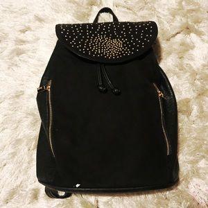 Deuce Lux Backpack Gold Details